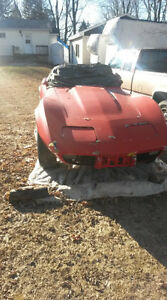 1979 corvette l 82 red clean black leather  to restore solid