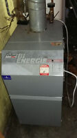 Electrical and Bi Energy heater / Fournaise bi énergie dettson