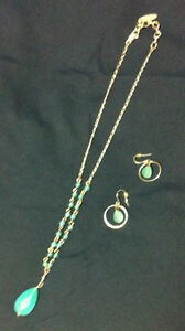 Silver Necklaces & Earrings, Nygard, 2 sets