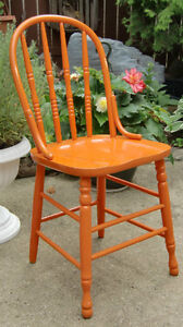 Antique/Retro Wooden Kitchen Chairs (Windsor Style)