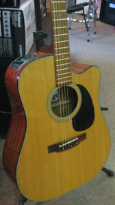 SALE Takamine EF340SC Acoustic Electric Guitar JAPAN MIJ