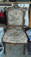 2 Antique Eastlake chairs