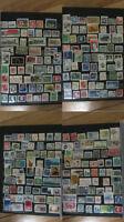 Collection de plus de 1400 timbres du Canada