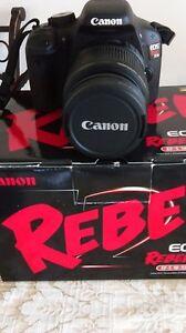 Photo numérique canon rebel eos t2i kit 18.0 mega pixels