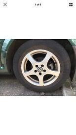VW golf 4 alloy + good tyres