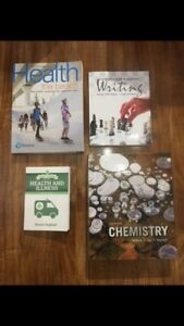 UOIT Science/Health Science Textbooks