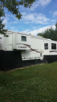 Amazing 5th wheel trailer for sale. Priced to sell!