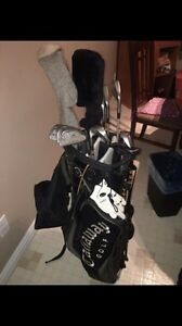 Callaway golf bag w/ pro select clubs $200 Obo