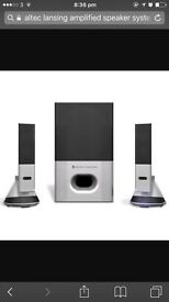 altec lansing amplified speaker system