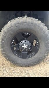 37 inch tires on rims for sale