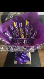 Chocolate Bouquets-Ferrero, Lindor, Rafaello, Mixed Chocs