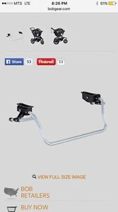 ISO stroller to car seat adapter