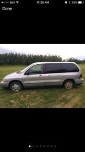 2002 Ford Windstar Minivan for parts