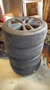 234/45r18 Good year tires and rims
