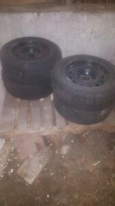 225/60/16 Winter Tires (Cooper)