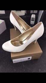 Brand new Ivory bridal shoes £20