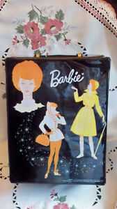 Barbie Doll Trunk/Case with Accessories Boxes, 1965