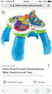 Fisher Price Table musicale