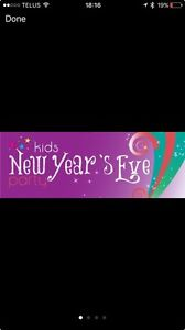 New years eve childcare with a fun twist!!!