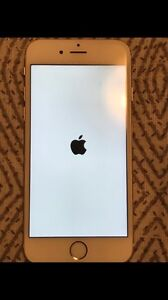 White and gold 64 gb iPhone 6