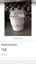 Feeding bottle sterliset