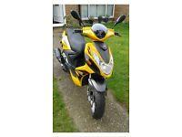 125cc lifan moped