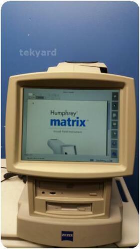 CARL ZEISS HUMPHREY MATRIX 715 VISUAL FIELD ANALYZER % (271895)