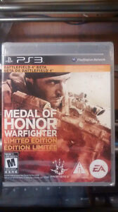 Brand New Sealed Medal of Honor Warfighter Playstation PS3 Game
