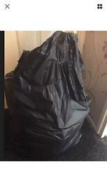 0-3 Black Bag Full Of Girls Clothes