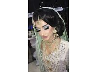 Indian Pakistani bridal makeup artist party makeup beautician hairstylist trained by makeup by mus