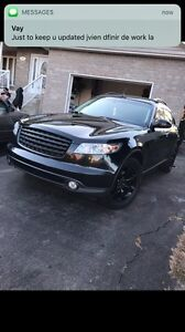 Infiniti fx35 2005 bought from dealers whit papers