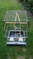 Bird cage - very sturdy and very good condition