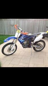 2002 Yamaha YZ 450f