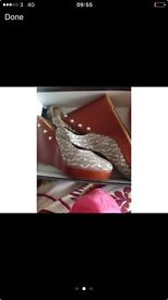 Armani ladies shoes size 6/7 new in box with tags