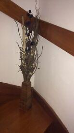 Flower/stick vase diaplay