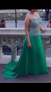Evening gown for wedding or prom