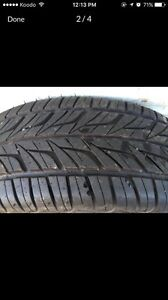 195x65/15R all season tires from a Jetta  Prince George British Columbia image 3