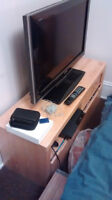 Ikea TV Stand with Rollout Storage