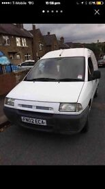 2002. Citroen dispatch van long mot £795.