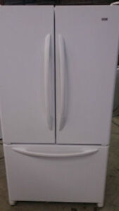 Refrigerator White - French Door - Durham Appliances Ltd.