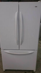 Refrigerator White - French Door DURHAM APPLIANCES LTD.