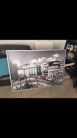 IKEA Piccadilly circus large framed picture