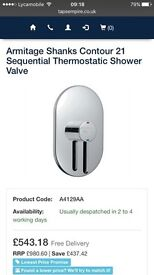 Armitage shanks contour 21 sequential thermostatic shower valve