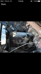 235 6 Cylinder Motor and 4 Speed Transmission