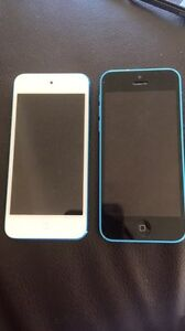 iPod 5th generation and iPhone 5C