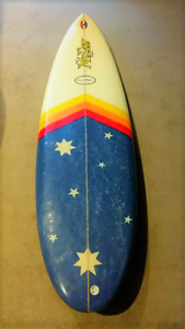 McCoy Nugget hand shaped surfboard 5'10""