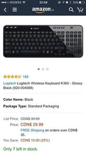 Bluetooth keyboard for sale, like new