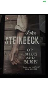New of mice and men gcse english book