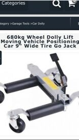 "680kg Wheel Dolly Go Jack 9"" tyre"