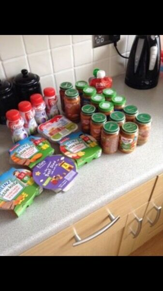 Baby food all in datein Salford, ManchesterGumtree - Baby food all in date . Baby is on our food now so no need for this any more